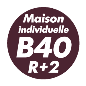 Maison individuelle B40 R+2