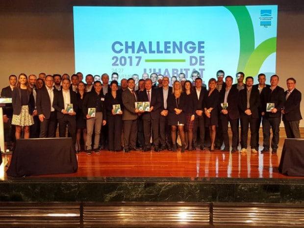 Photo (DR) : Challenge de l'habitat innovant 2017 © LCA-FFB