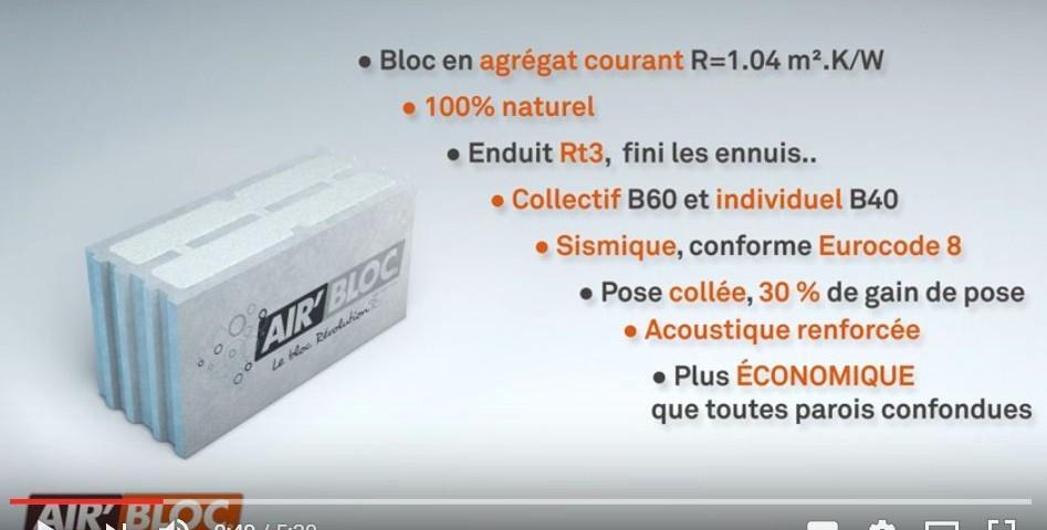 Vidéo à propos de AirBloc