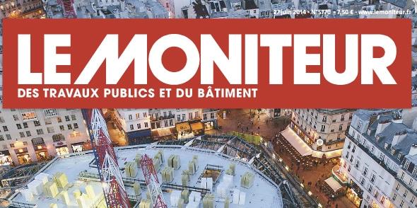 Article Le Moniteur des Travaux Publics et du Bâtiment