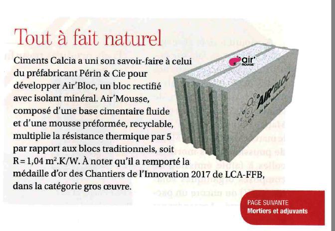 Extrait article n° 428 du magazine Négoce de mars 2017